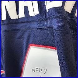 VTG Reebok Authentic Adam Vinatieri New England Patriots Jersey SZ 54 NFL Sewn