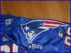 Vintage 98 Starter TERRY GLENN NEW ENGLAND PATRIOTS Authentic NFL Team Jersey 54