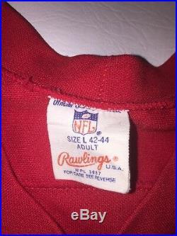 Vintage New England Patriots #81 Blank Aaron Hernandez Rawlings Jersey Sz L NFL