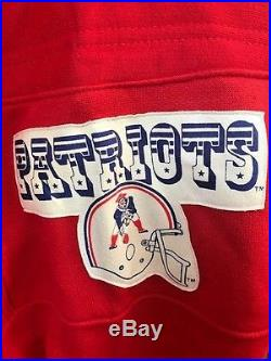 Vintage New with Tags NIKE NFL New England Patriots Pullover Sweatshirt Size L